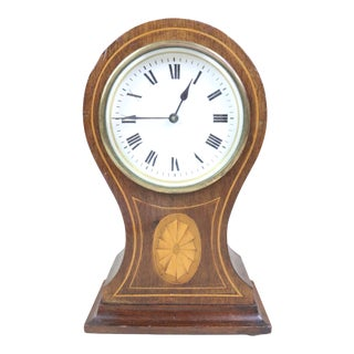 English Edwardian Mantel Clock For Sale