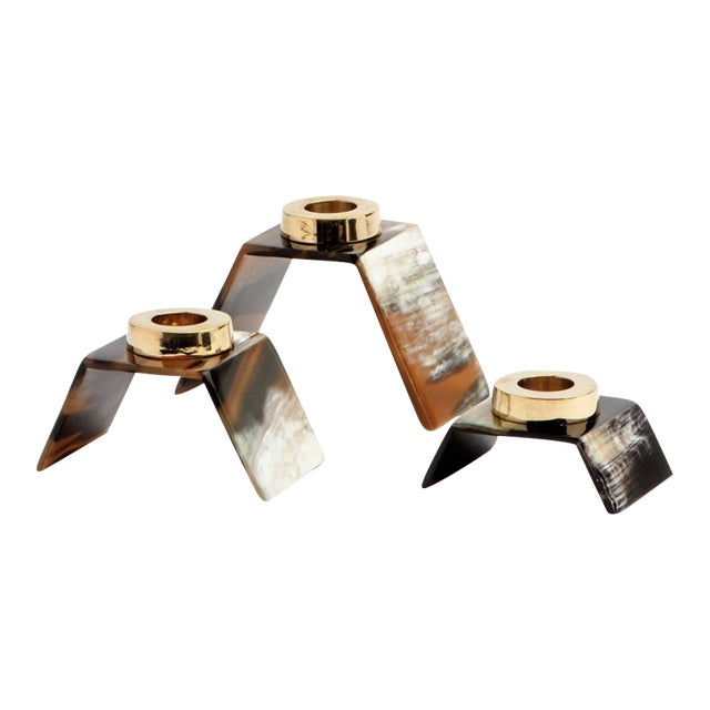Callum Candle Holders - Set of 3 For Sale