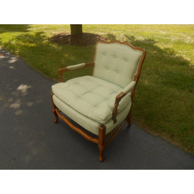 Beautiful North Hickory Furniture Company Lounge Chair made in North Carolina. This beautiful chair is all original. The...