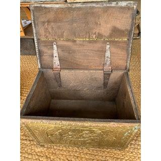 Vintage Brass Coal Box Preview