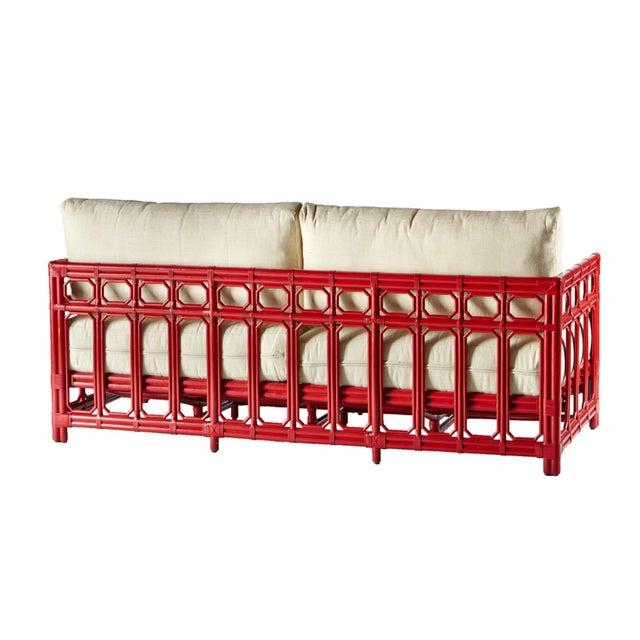Selamat Designs Regeant Antique Red Sofa - Image 3 of 3