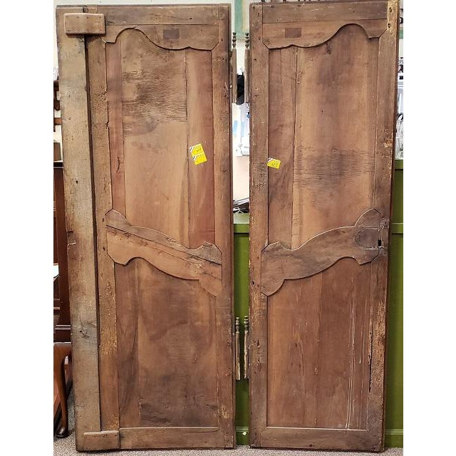 Pair of Mid 19th Century French Walnut Door Panels C.1850s For Sale - Image 11 of 13