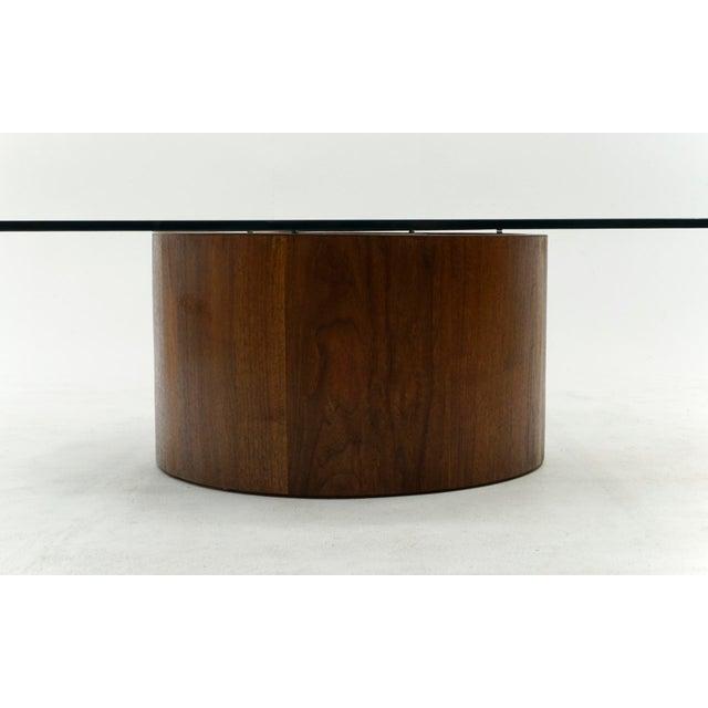 Vladimir Kagan 1960s Vladimir Kagan Square Snail Coffee Table For Sale - Image 4 of 7