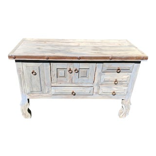 Grey Rustic Cabinet for Bathroom or Bedroom