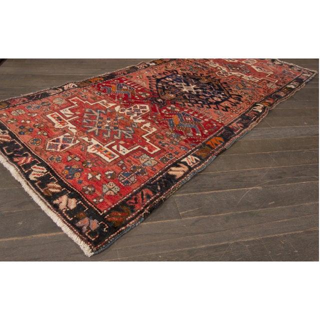 """Apadana - Vintage Persian Heriz Rug, 2'8"""" x 6'3"""" - Image 3 of 5"""