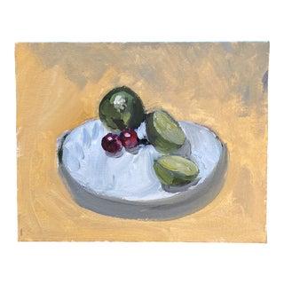 Contemporary Fruit Still Life Original Painting For Sale