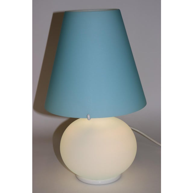 "Italian ""Paralume"" Murano Due Mid-Century Modern Glass Table Lamp For Sale - Image 3 of 13"