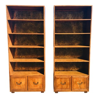 1960s Mid-Century Modern Bookcases - a Pair For Sale