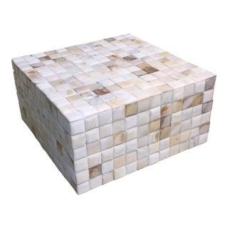 Large m.o.p. Tile Box For Sale