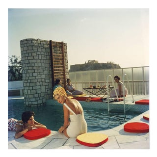 "Slim Aarons ""Penthouse Pool"" Photography"