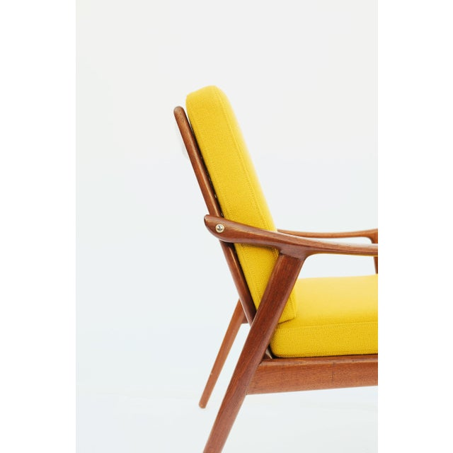 1950s Danish Modern Fredrik A. Keyser for Vantne Lenestolfabrikk Lounge Chair For Sale - Image 10 of 11