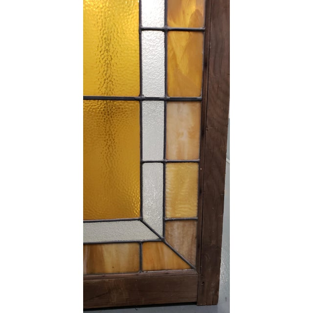 Late 19th Century Large Late 19th Century Stained Glass Window Panel C.1880 For Sale - Image 5 of 12