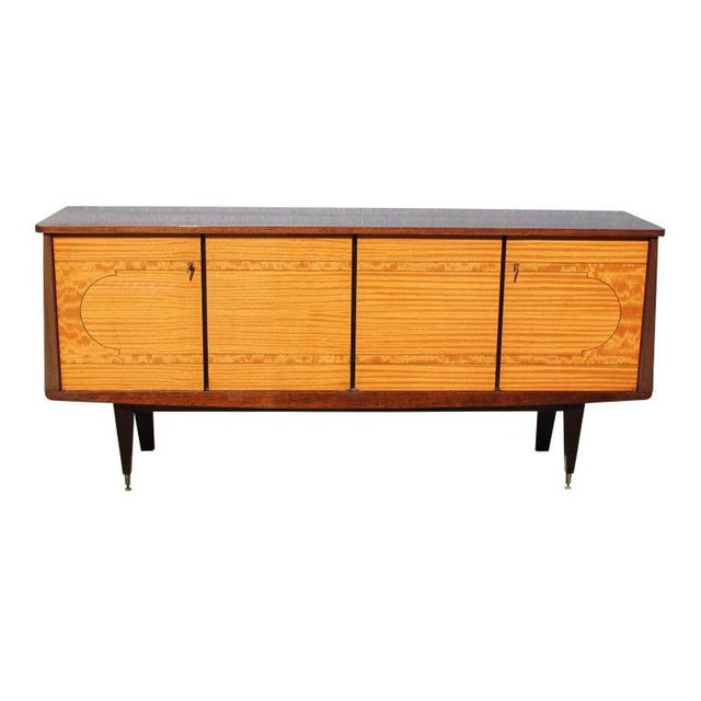 1940s French Art Deco Mahogany Sideboard For Sale - Image 13 of 13