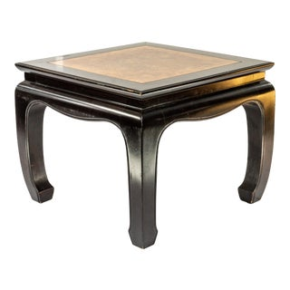 1960s Vintage Henredon Chinoiserie Style Side Table For Sale