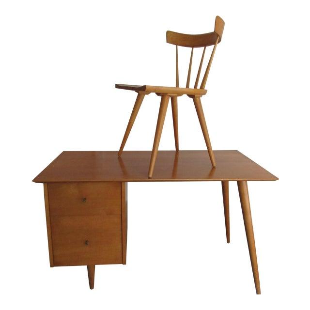 Paul McCobb Planner Desk & Chair For Sale