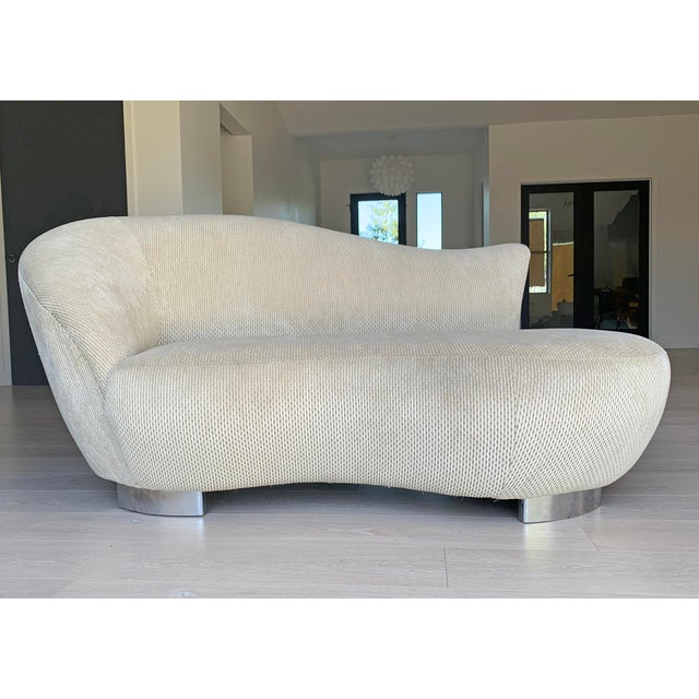 White Vladimir Kagan Cloud Sofa for Directional For Sale - Image 8 of 8