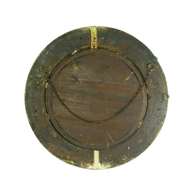 Regency Style Giltwood Convex Mirror - Image 7 of 8