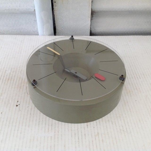 Bauhaus Modern Design Tokei Wall Clock For Sale - Image 3 of 9