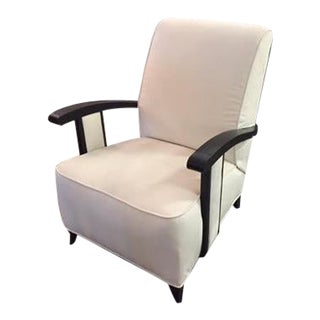 Vintage Art Deco Lounge Chair For Sale