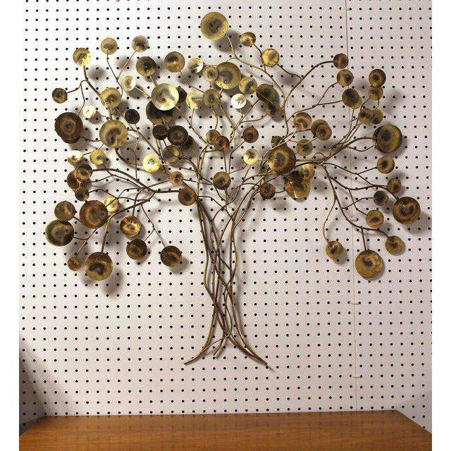 Curtis Jere Tree of Life Wall Sculpture For Sale In New York - Image 6 of 7