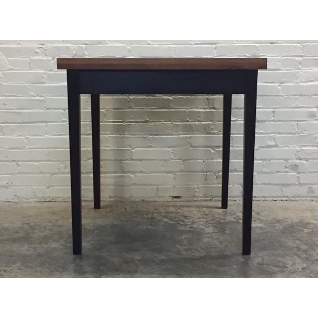 Mid-Century Modern Folding Top Dining/Card Table - Image 7 of 7