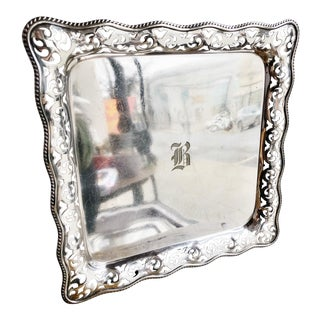 Antique Tiffany and Co Silver Plated Tray For Sale