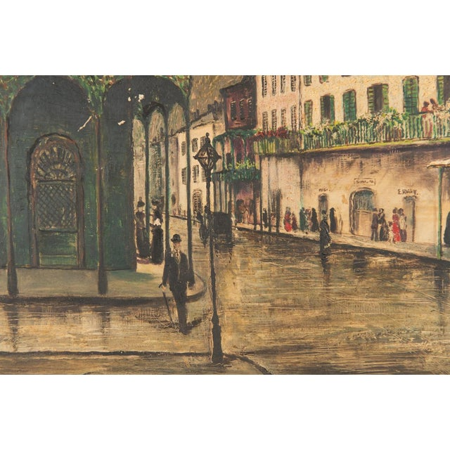 """""""New Orleans """" Oil Painting by George Orry-Kelly For Sale - Image 5 of 10"""