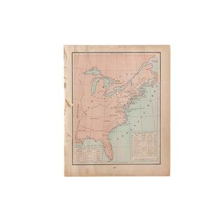 Cram's 1907 Map of Us History