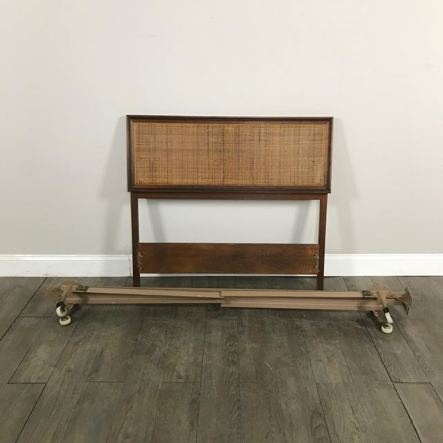 Midcentury Modern Twin Bed Frame - Image 2 of 6