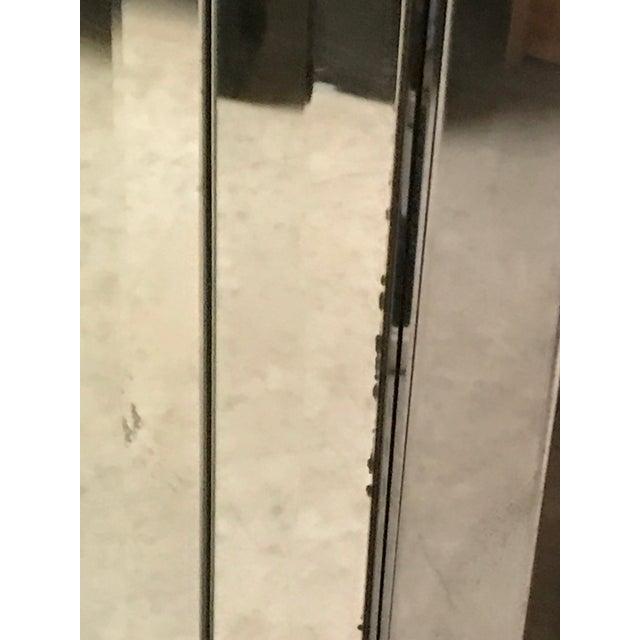Vintage Ello Six Door Mirrored Credenza For Sale - Image 9 of 11