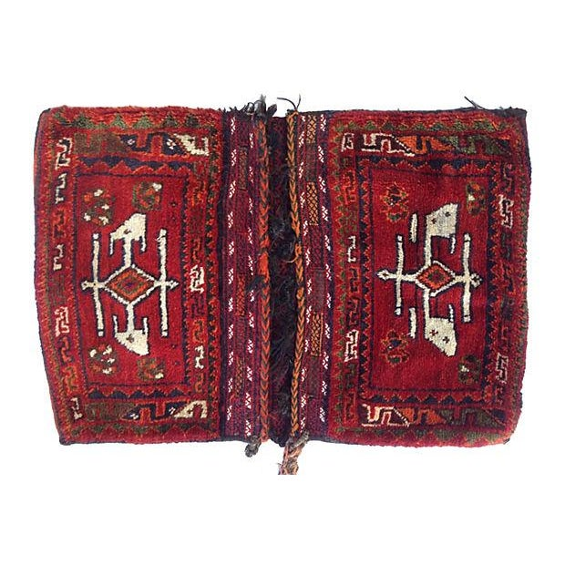Turkish Wool Saddlebag - Image 1 of 5