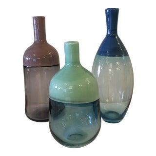 West Elm Vase Set - 3 Pieces For Sale