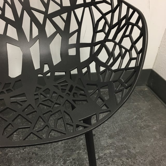 Janus Et Cie Metallic GreyForrest Dining Chair - Set of 4 - Image 6 of 10