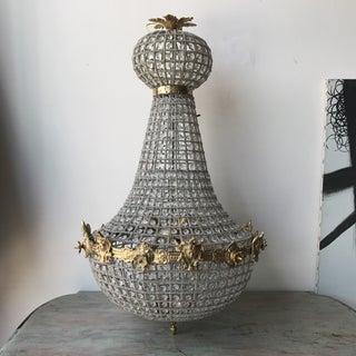 Gold Cherub Empire Chandelier Preview