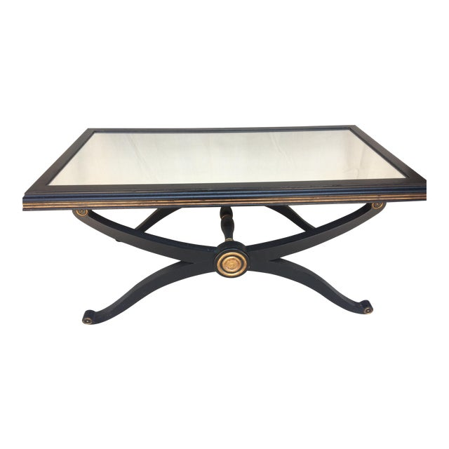 Mirrored Empire Coffee Table - Image 1 of 5