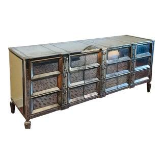1950s Hollywood Regency 9 Drawer Dresser For Sale