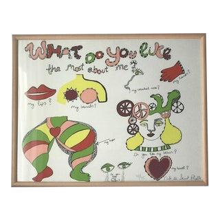 Niki De Saint Phalle Screenprint, Signed For Sale