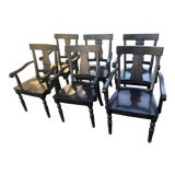 Image of Pottery Barn Dining Chairs - Set of 6 For Sale