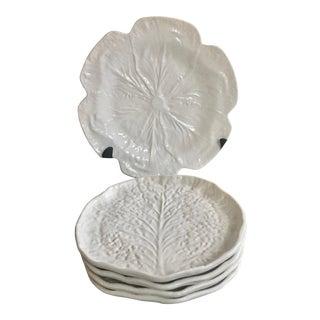 Majolica Cabbage & Lettuce Ware - 5 Pieces For Sale