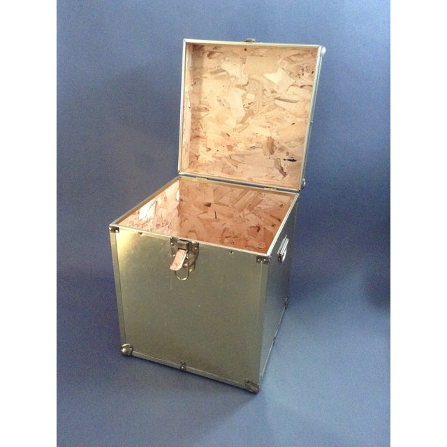 1970's Brass Clad Trunk - Image 5 of 7