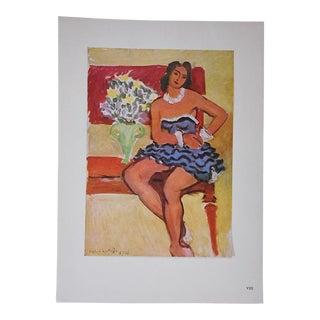 Vintage Ltd. Ed. Modernist Lithograph-Henri Matisse- C.1950-Folio Size For Sale