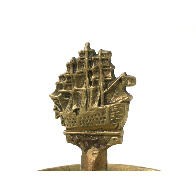 Brass Ship Dish - Image 9 of 9