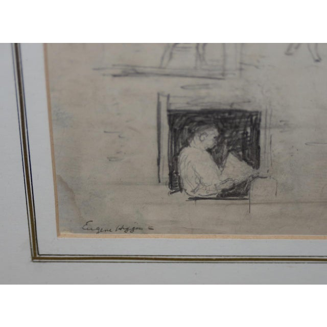 "White Eugene Higgins (1874-1958) ""Family Life"" Sketches C.1920's For Sale - Image 8 of 11"