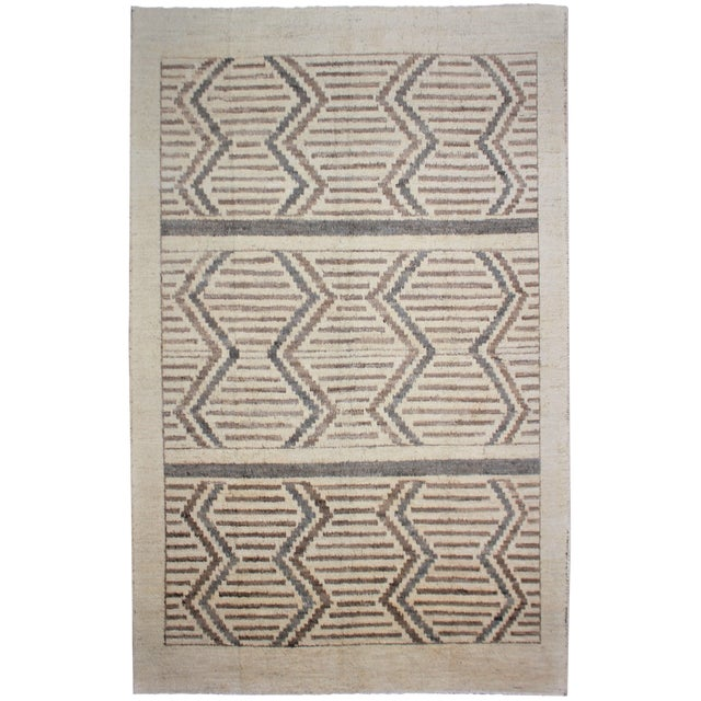 """Hand Knotted Navajo Style Rug - 12'2"""" X 9'3"""" For Sale"""