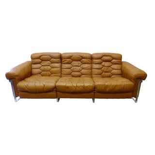 Reclining Three Seat Sofa by DeSede For Sale