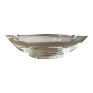 Stuben Fluted Glass Bowl