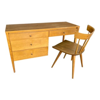 Paul McCobb for Planner Group Desk and Chair Set - 2 Pieces For Sale