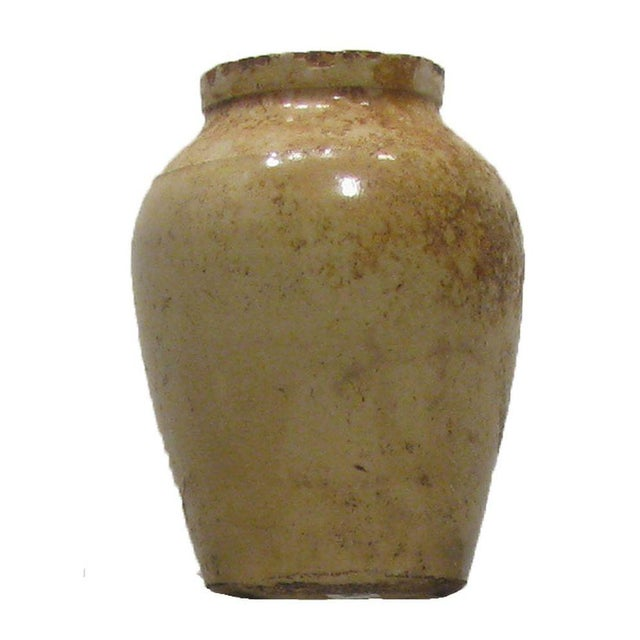 Antique English Olive Jars C.1880, S/6 For Sale - Image 4 of 5