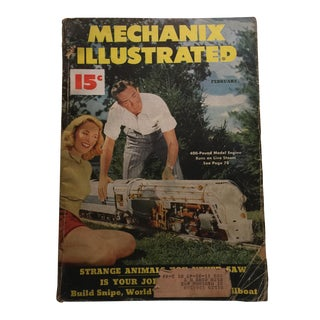 Vintage Feb. 1949 Mechanix Illustrated Magazine For Sale