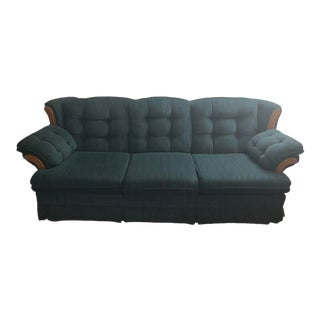 1960s Vintage Green Couch For Sale